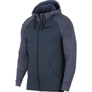 Nike Dry Men's Full-Zip Training Hoodie Size 4XL